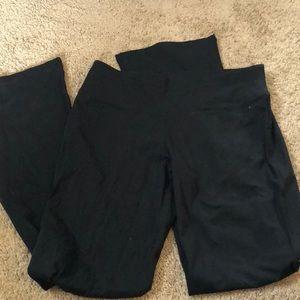Boot cut leggings